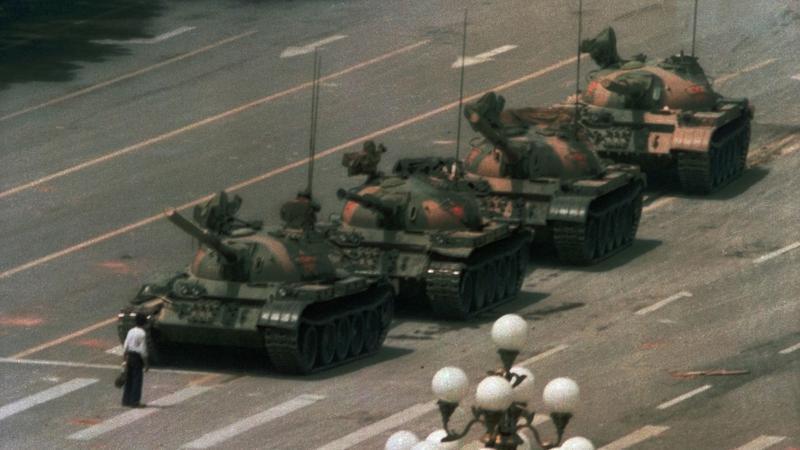 L'homme de Tian'anmen