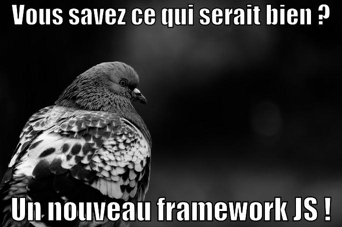 Un pigeon méditatif