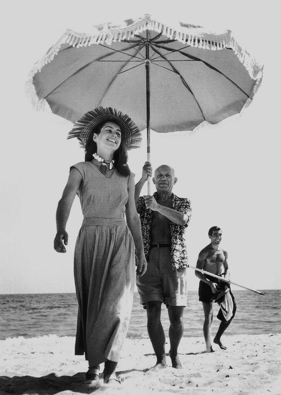 Françoise Gilot et Picasso, par Robert Capa