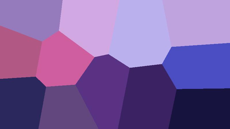 L'algorithme k-moyennes en utilisant les coordonnées euclidiennes