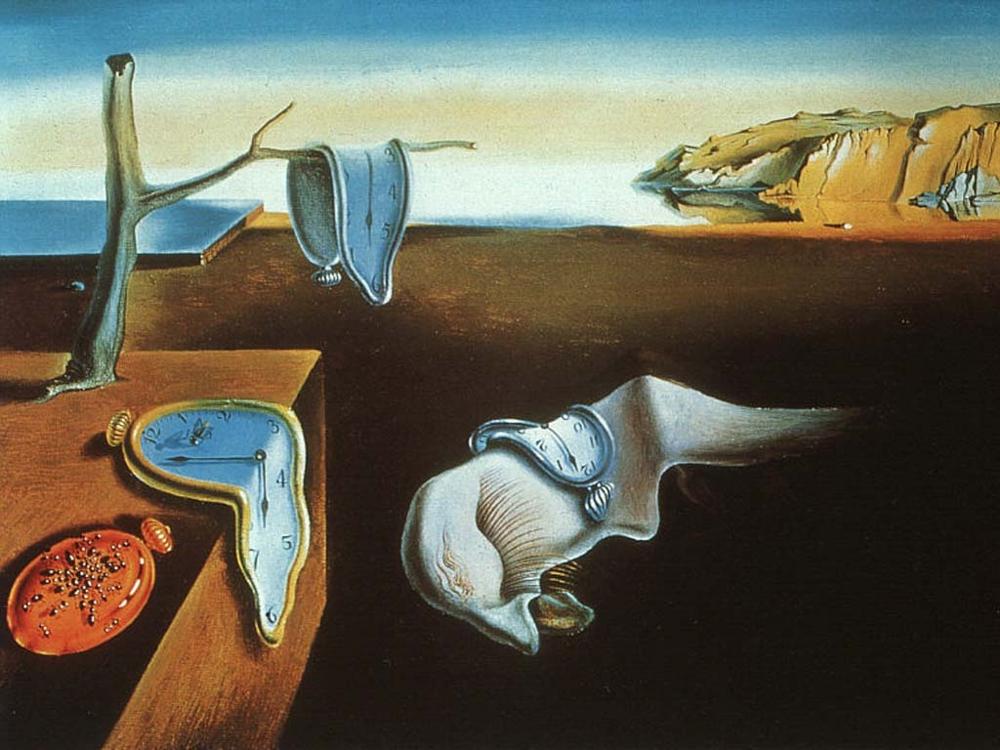 La persistance de la mémoire, tableau de Dali