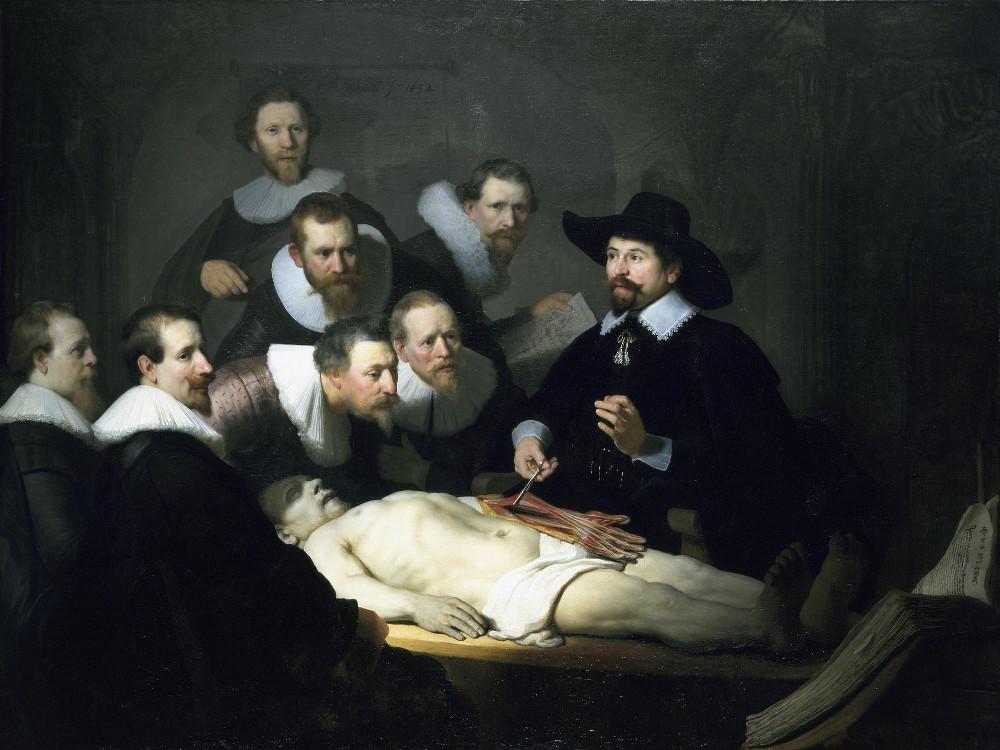 La leçon d'anatomie du Dr Tulp, tableau de Rembrandt