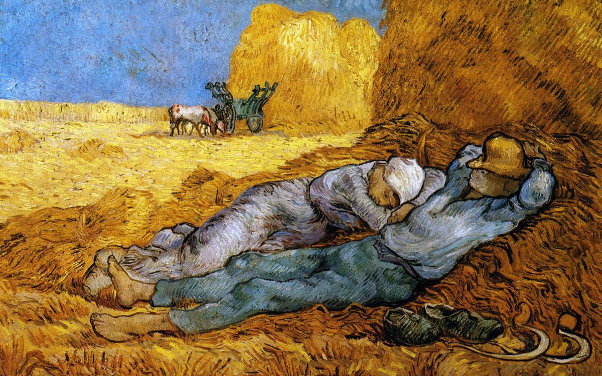 La Sieste, tableau de Van Gogh