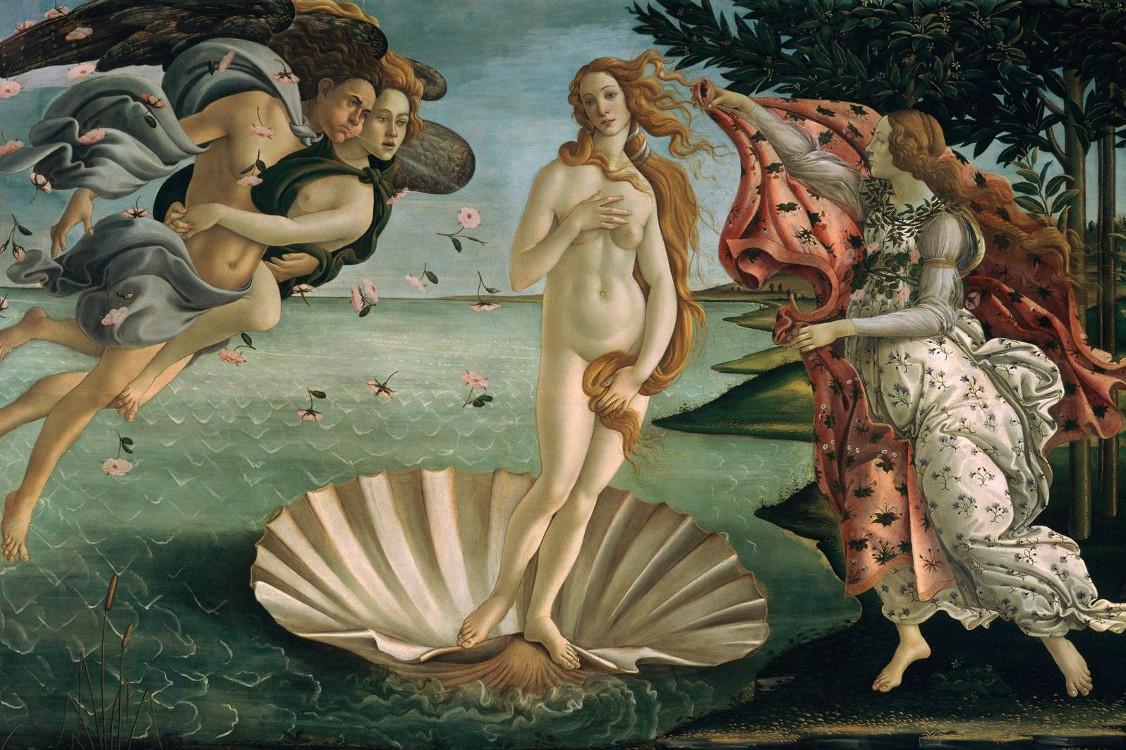 La naissance de Venus, tableau de Botticelli