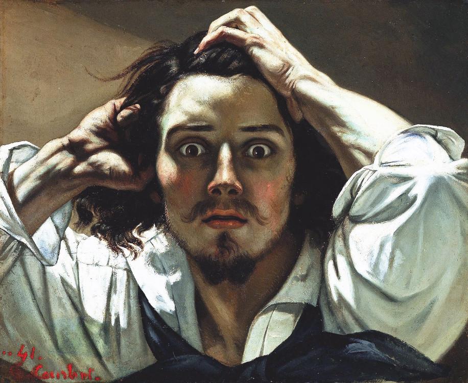 Autoportrait, tableau de Courbet
