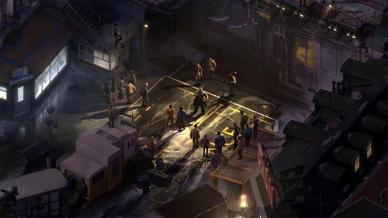 Capture d'écran du jeu Disco Elysium