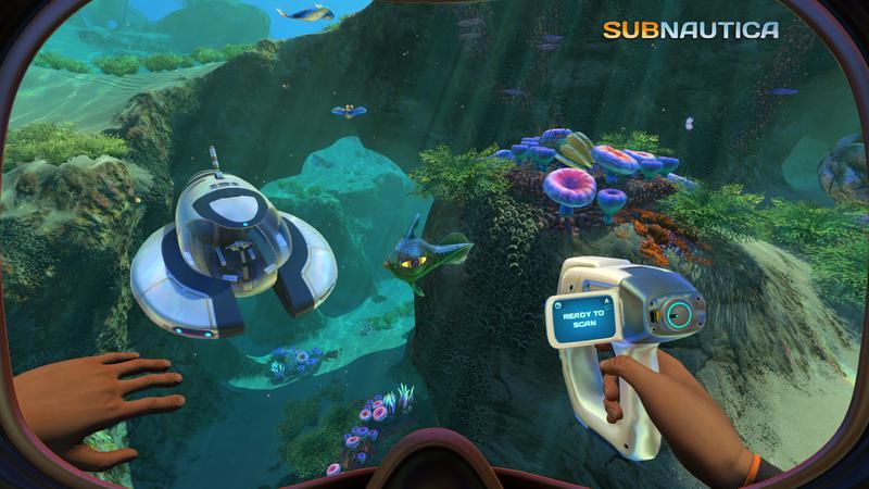 Capture d'écran du jeu Subnautica