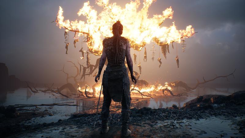 Capture d'écran du jeu Hellblade: Senua's Sacrifice